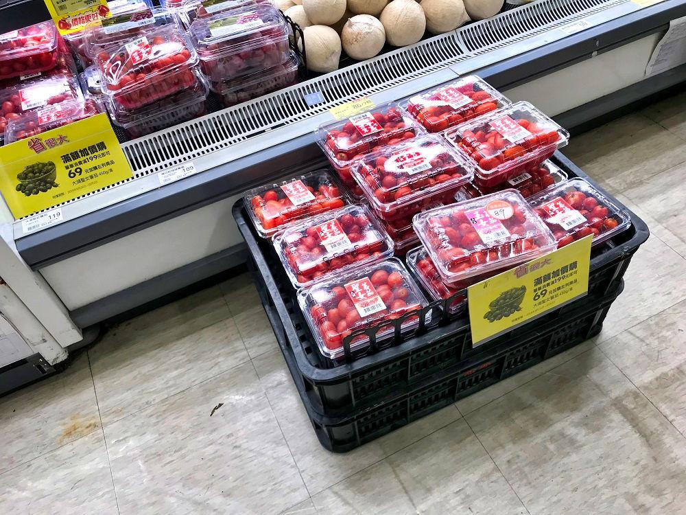 頂好wellcome「農安2店」のプチトマト