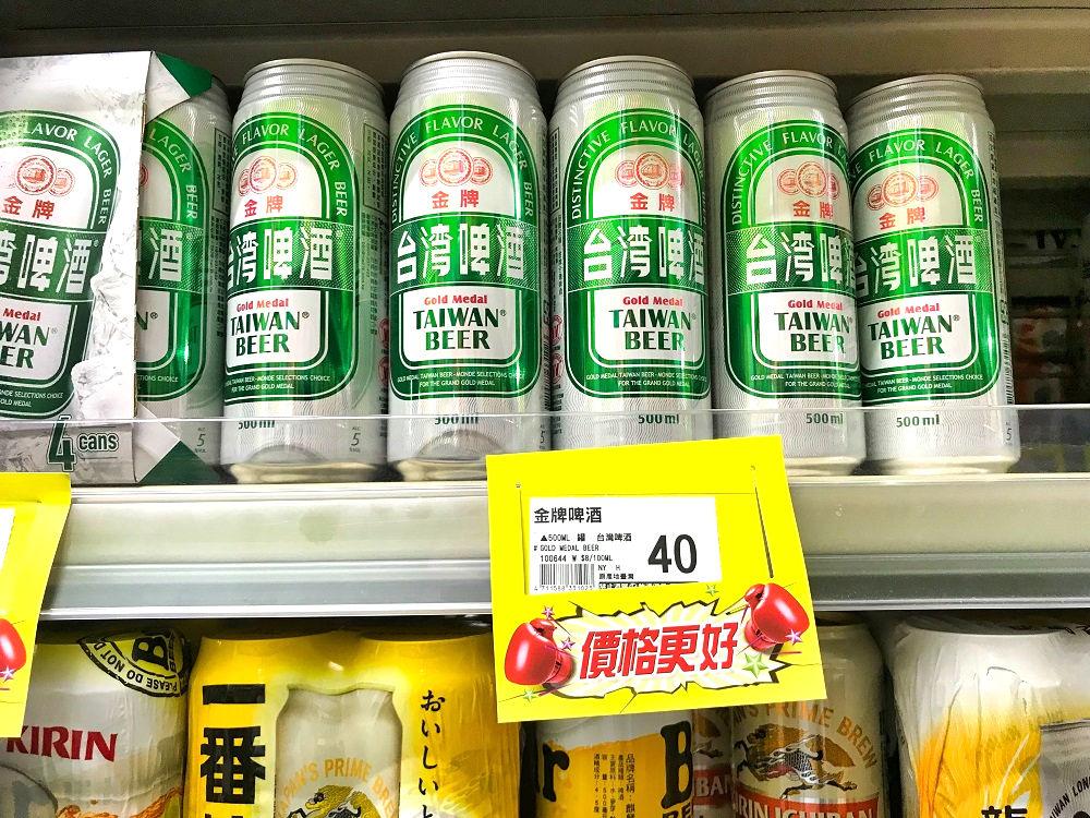 頂好wellcome「農安2店」のビール