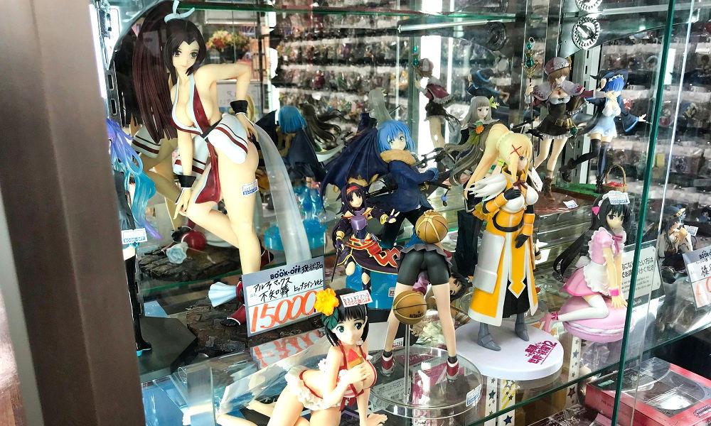 ブックオフ「イオンモール成田店」のフィギュア販売