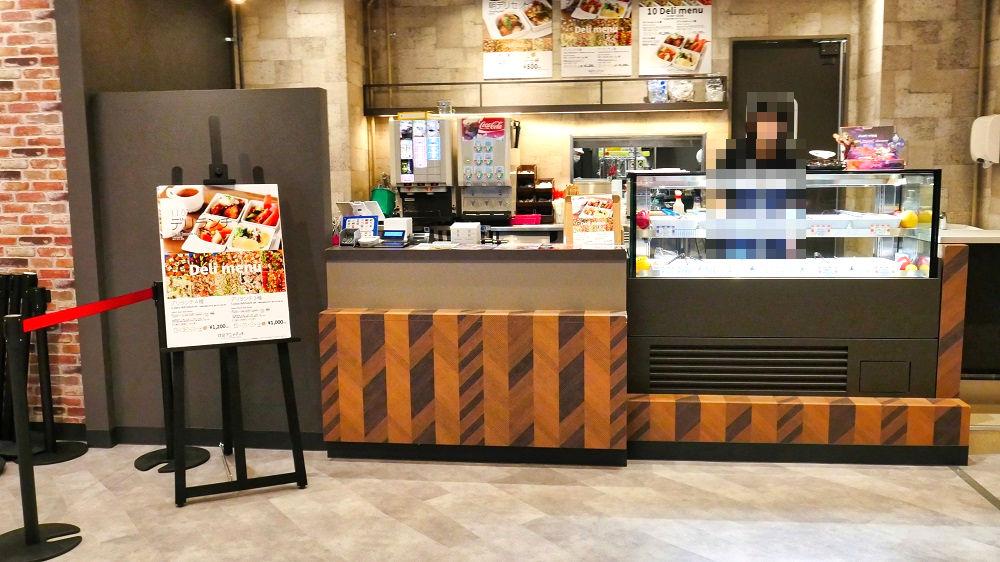 『成田アニメデッキ』のイートインレストラン