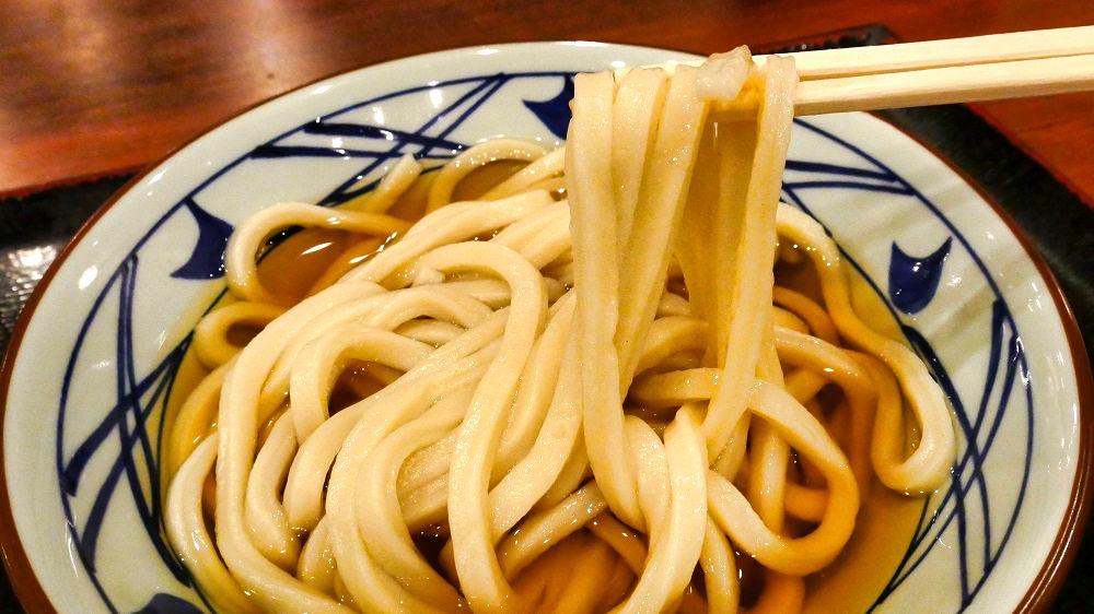 丸亀製麺の「かけうどん」