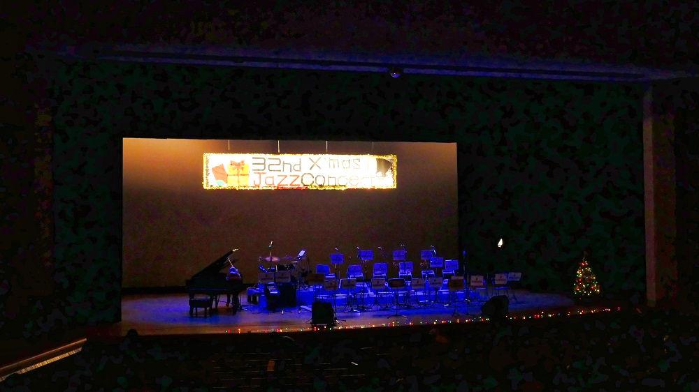 富里高校ジャズオーケストラ部「クリスマス・ジャズコンサート」