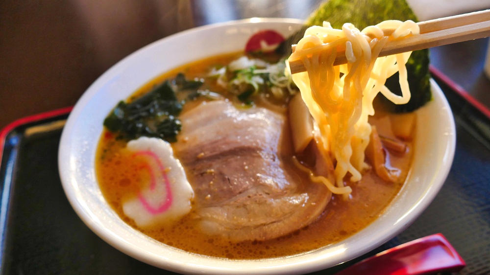 お食事処『めん六や』夢屋富里店の味噌ラーメン