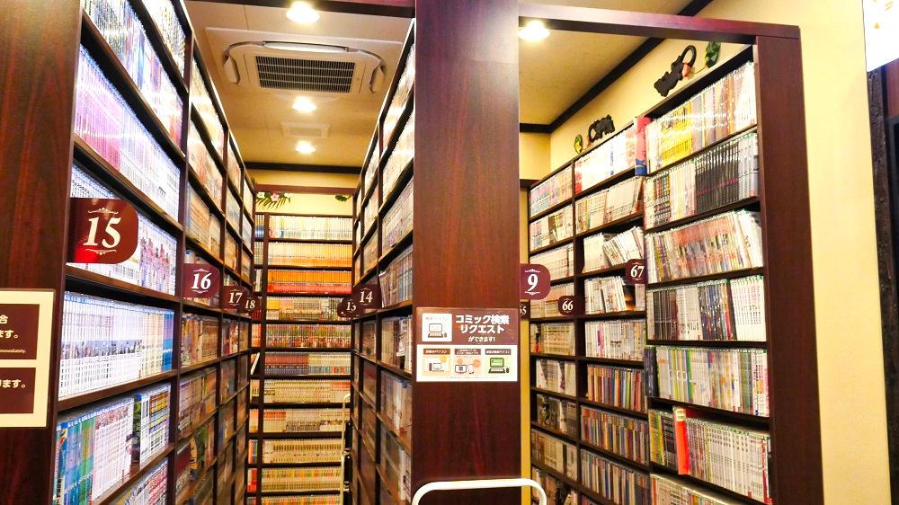 快活CLUB成田ニュータウン店はもちろんマンガ喫茶でもあります!