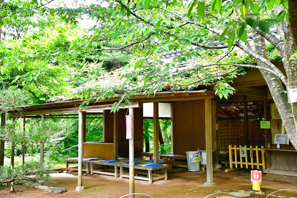 『房総のむら』の茶店
