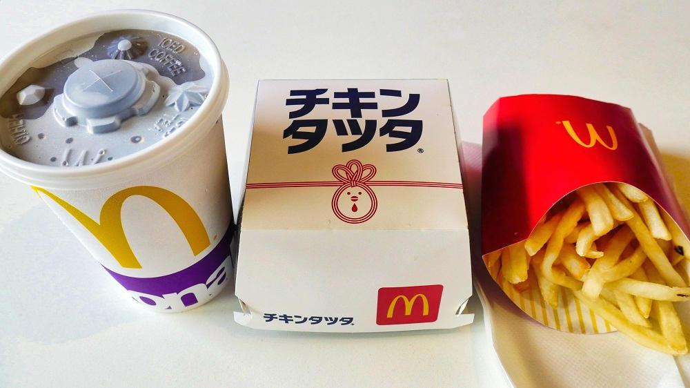 マクドナルドの『チキンタツタ』をテイクアウト