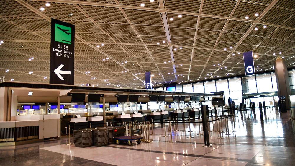 第1ターミナルの状況