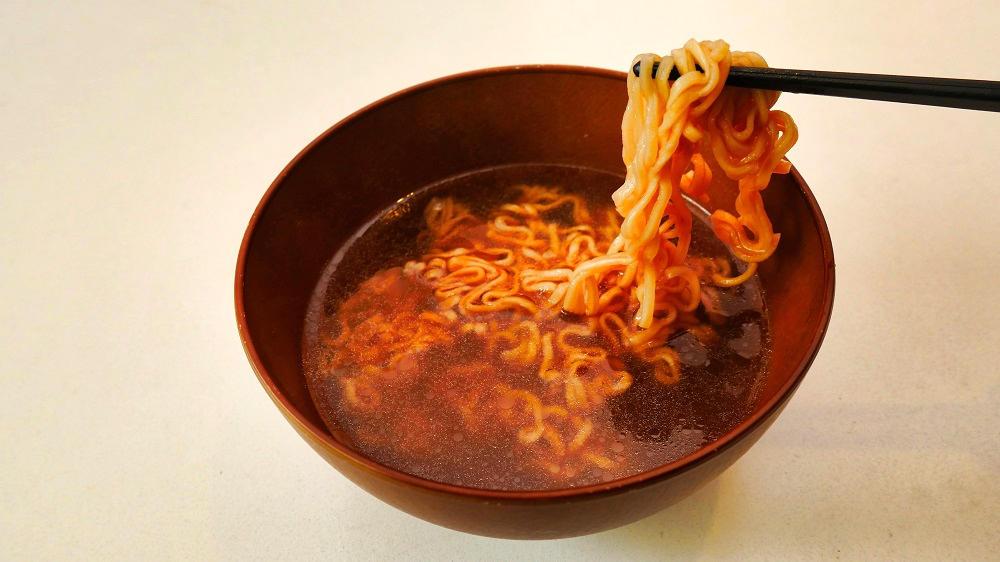 【パターン③】鍋で煮込む(インスタントラーメン風)