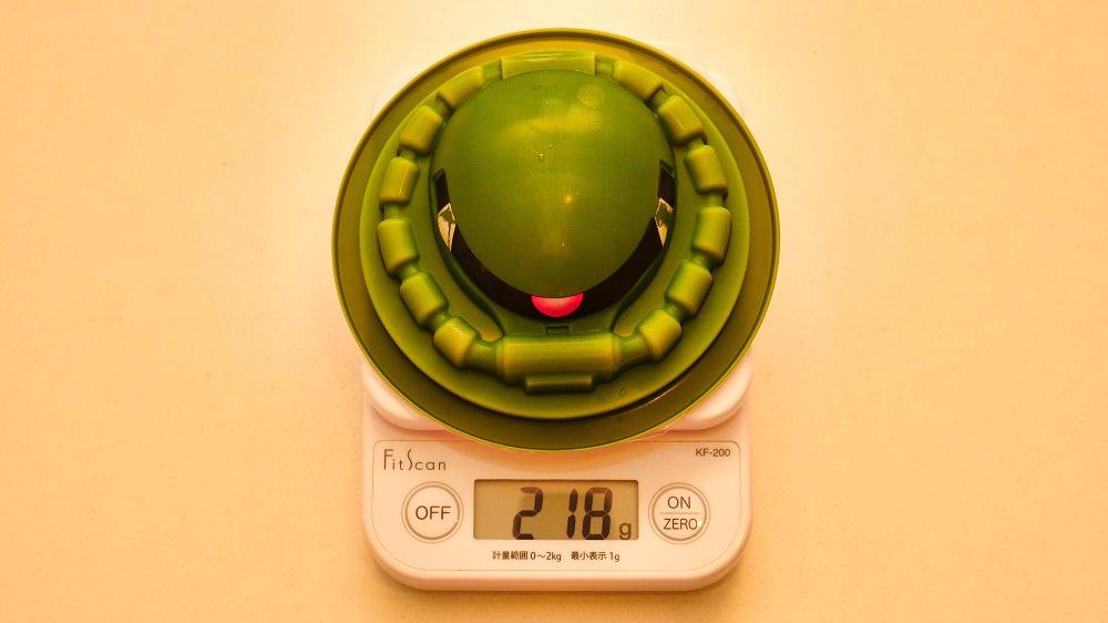 相模屋『ザクとうふ改』の身体計測